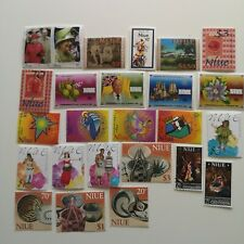 500 Different Niue Stamp Collection