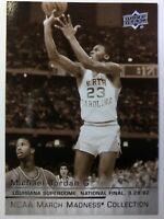 Rare Sepia: 2014 Upper Deck NCAA March Madness Collection Michael Jordan #MJ-5