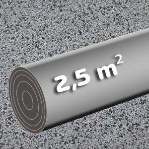 Selbstklebende Dachpappe 2,5 m² grau KSK Bitumen Rolle 5 x 0,5 m