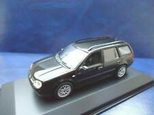 + VOLKSWAGEN VW Golf 4 Variant 1:43 Minichamps  *** schwarz *** 430056010