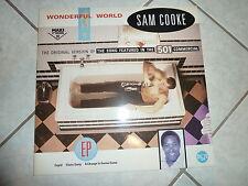 Maxisingel Wonderful World von Sam Cooke