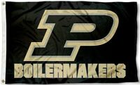 Purdue Boilermakers Flag ~ Large 3'X5' ~ Purdue University Banner ~FREE SHIPPING