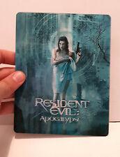 Resident Evil Apocalypse 3D lenticular Flip effect for Steelbook