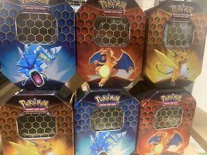 EMPTY Pokémon Hidden Fates Tin X 60