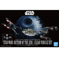 Bandai Star Wars CLEAR VEHICLE SET (STAR WARS:RETURN OF THE JEDI)