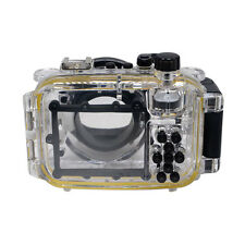 Mcoplus 40M/130ft Underwater Waterproof Housing Camera Case for Canon S110