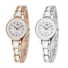 Waterproof Steel Strap Quartz Watches Women Small Dial Analog Wristwatch *DC