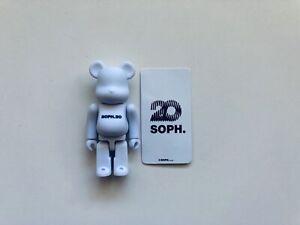 Soph.20 100% Bearbrick Medicom S37 Secret Artist 37 be@rbrick Sophnet Very Rare