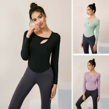 With Chest Pad Sexy Hollow Tight Sports Clothing Casual Running Shirt Sportswear