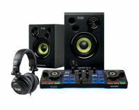 Hercules DJ Starter Kit w/ Controller, Speakers, Headphones, and Software