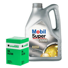 Mobil Super 3000 X1 5W40 Engine Oil 5L and Oil Filter Service Kit