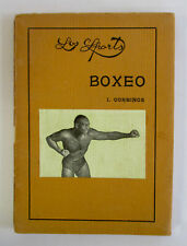 1910s JACK JOHNSON Cover LOS SPORTS BOXEO Boxing Book History How To Souvenir