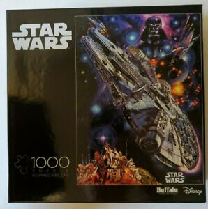 Star Wars Millennium Falcon 1000 Piece Puzzle Buffalo Games NEW