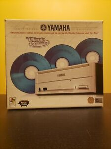 Yamaha CD Recorder in box with instructions and manual