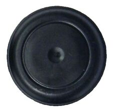 "QTY 2 of 1-1/2"" Black Rubber Flush Mount Body Sheet Metal Hole Plug 1.5 Inch"