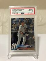 2018 Topps Chrome Update Gleyber Torres RC Rookie PSA 10 GEM MINT