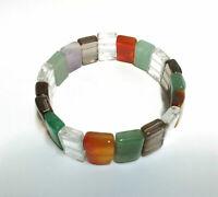 Hakik Agate Bracelet Color Full Natural Agate Bracelet Style 2