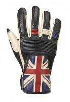 Triumph Flag Gloves Union Flag Leather Motorcycle Gloves NEW MGVS17303