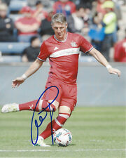 Bastian Schweinsteiger Signé Bayern Munich Ligue des Champions 8X10 Photo Coa