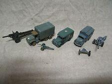 Roco 1/87 German Opel blitz gmc US gun anti tank 37mm Dodge ambulance