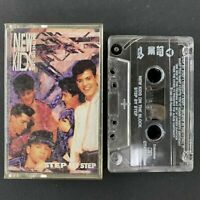 New Kids on the Block - Step By Step - 1990 Audio Cassette Tape