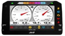 """NEW AIM MXP Strada TFT 6"""" Dash Display - ROAD Version - CAN Loom"""