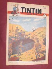 HERGE JOURNAL DE TINTIN FRANCAIS N° 29  / 12 mai 1949 JACOBS ALIX TTBE