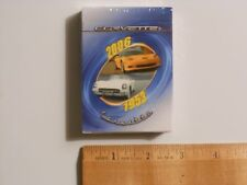 1953-2006 GM Chevrolet Corvette Playing Card Set NEW