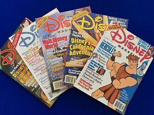 Disney Magazine - Mixed Selection of 5