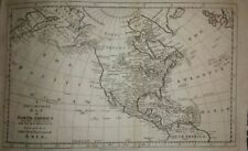 New & Accurate Map of North America (1785)