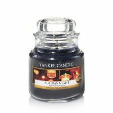 YANKEE CANDLE candela profumata giara piccola Autumn Night durata 40 ore