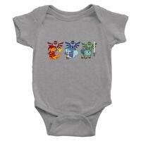 Infant Baby Boy Girl Rib Bodysuit Clothes Legend of Zelda Link Crossover Game