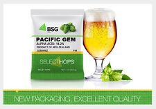 HOPS HOP PELLETS 8 OZ PACIFIC GEM NEW ZEALAND - FACTORY PACKED HOME BEER BREWING