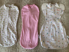 Baby Girl size newborn swaddle sleep-sack lot