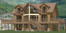 40x32 House -- 5 bedroom 4 Bath -- 2,932 sqft -- PDF Floor Plan -- Model 1