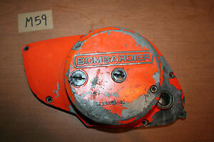 1979 Can-Am 370MX Engine Left Side Cover Clutch Cover OEM 79