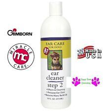 Gimborn R-7 Step 2 PRO PET Grooming Ear CLEANER DOG CAT 16 oz Reduce Odor Wax