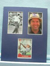 Saluting PGA Golf Great - Al Geiberger  & his autograph