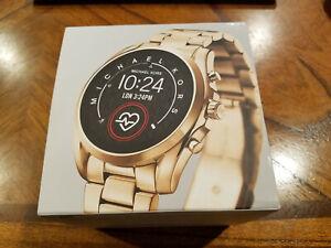 Michael Kors Access Gen 5 Bradshaw Smartwatch Gold MKT5085 NIB - FAST FREE SHIP