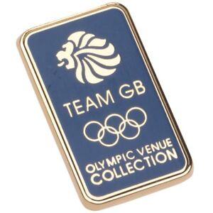 Olympics London 2012 Metal Team GB Pin - Blue