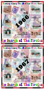 Pirate Radio 'In Search of The Pirates 1966 &1967' Listen In Your Car