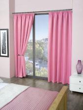Cortinas color principal rosa salón