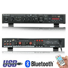720W Bluetooth Digital Amplifier Stereo HiFi Audio Karaoke Home Cinema 5 Channel