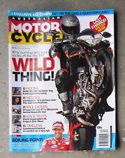 Motorcycle News AMCN Sept 2006 BMW HP2 BUELL XB12 BENELLI TNT MONSTER 695 FJR ST