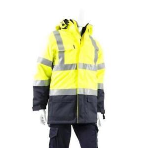 Haztec Boulton outer jacket fire resistant anti static Hiviz size L