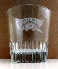"New listing Chivas Regal ""Aged 12 Years� Rocks Whiskey Low Ball Glass - Von Pok Italy"
