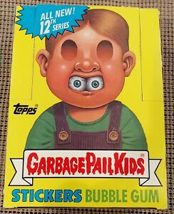1988 Garbage Pail Kids Original 12th Series 12 GPK OS12 (EMPTY BOX ONLY) RARE