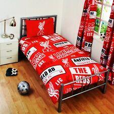 NUOVA Liverpool Football Club Football Club Singolo Trapunta Set Copripiumino Letto Per Ragazzi Bambini Fan