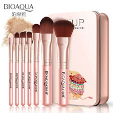 7x Makeup Brushes Set Eye Lip Face Foundation Make Up Brush Soft Fiber Hair Tool