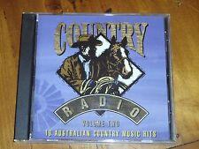 OZ COUNTRY RADIO / RUSSEL MORRIS *RARE CD  ' COUNTRY RADIO VOLUME TWO ' 1998 EXC